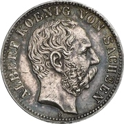 10 Mark - Johann (Silver pattern strike) – avers