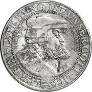 3 Mark - Friedrich August III. (Aluminium pattern strike) – avers