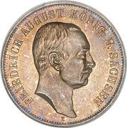 5 Mark - Friedrich August III – avers