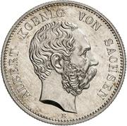 2 Mark - Albert (Mint Visit) – avers