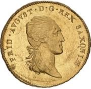 10 Thaler - Friedrich August I. – avers