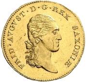1 Ducat - Friedrich August I. – avers