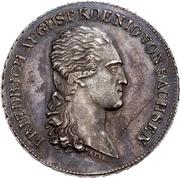 1 Thaler - Friedrich August I. (Prize Taler) – avers