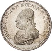 ⅔ Thaler - Friedrich August I. – avers