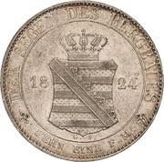 1 Thaler - Friedrich August I. (Ausbeute) – revers