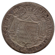 1 Thaler - Friedrich August II – revers