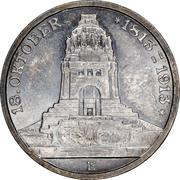 3 Mark (100ème anniversaire de la bataille de Leipzig) – avers
