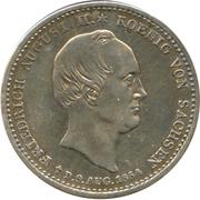 ⅙ Thaler - Friedrich August II – avers