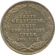 ⅙ Thaler - Friedrich August II – revers