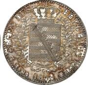 1 thaler Friedrich August II (Ausbeute) – revers