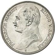 2 mark Friedrich August III – avers