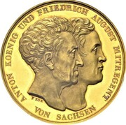 20 ducats - Anton (Nouvelle Constitution) – avers