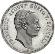 3 Mark - Friedrich August III (Pattern) – avers