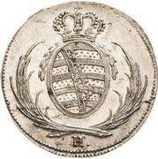 8 Pfennige - Friedrich August I (Essai) – avers