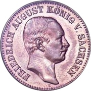 20 mark Friedrich August III (Essai) – avers