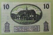 10 Pfennig Liebenwerda – revers