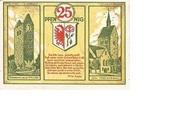 25 Pfennig (Bismark) – revers