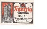 50 Pfennig (Bismark) – avers