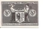 50 Pfennig (Bismark) – revers