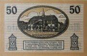 50 Pfennig Liebenwerda – revers