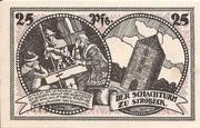 25 Pfennig (Stroebeck) – revers