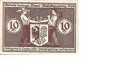 10 Pfennig (Bismark) – revers