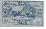 25 Pfennig (Nöschenrode) – revers
