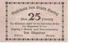 25 Pfennig (Barby) – avers