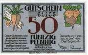 50 Pfennig (Derenburg) – avers