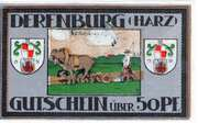 50 Pfennig (Derenburg) – revers