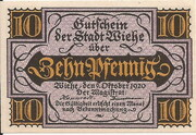 10 Pfennig (Wiehe) – avers