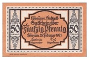 50 Pfennig (Löbejün) – avers
