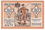 50 Pfennig (Löbejün) – revers