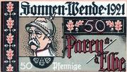 50 Pfennig (Parey an der Elbe) – avers