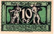 10 Pfennig (Vaethen-Tangerhütte; Rabatt-Spar-Verein) – avers