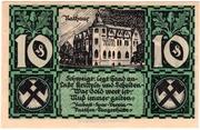 10 Pfennig (Vaethen-Tangerhütte; Rabatt-Spar-Verein) – revers