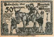 50 Pfennig (Wittgensdorf Bez. Chemnitz))) – avers