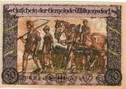 50 Pfennig (Wittgensdorf Bez. Chemnitz))) – revers
