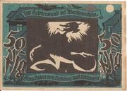 50 Pfennig (Lichtenstein-Callnberg) – revers