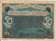 50 Pfennig (Lichtenstein-Callnberg) – avers