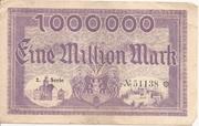 1,000,000 Mark (Meeran) – revers