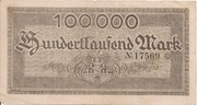 100,000 Mark (Meeran) – revers
