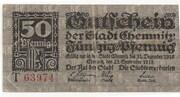 50 Pfennig (Chemnitz) – avers