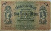 500 Mark (Sächsische Bank) – avers
