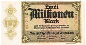 2,000,000 Mark Sächsische Bank – avers