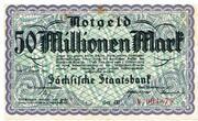 50,000,000 Mark Sächsische Staatsbank – avers
