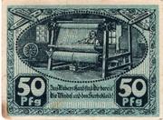50 Pfennig (Kirchberg, Saxony) – revers