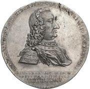 1 Thaler - Georg Friedrich (Death; Ausbeutetaler) – avers