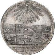 1 Thaler - Georg Friedrich (Death; Ausbeutetaler) – revers