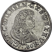 1 Gulden - Georg Wilhelm – avers